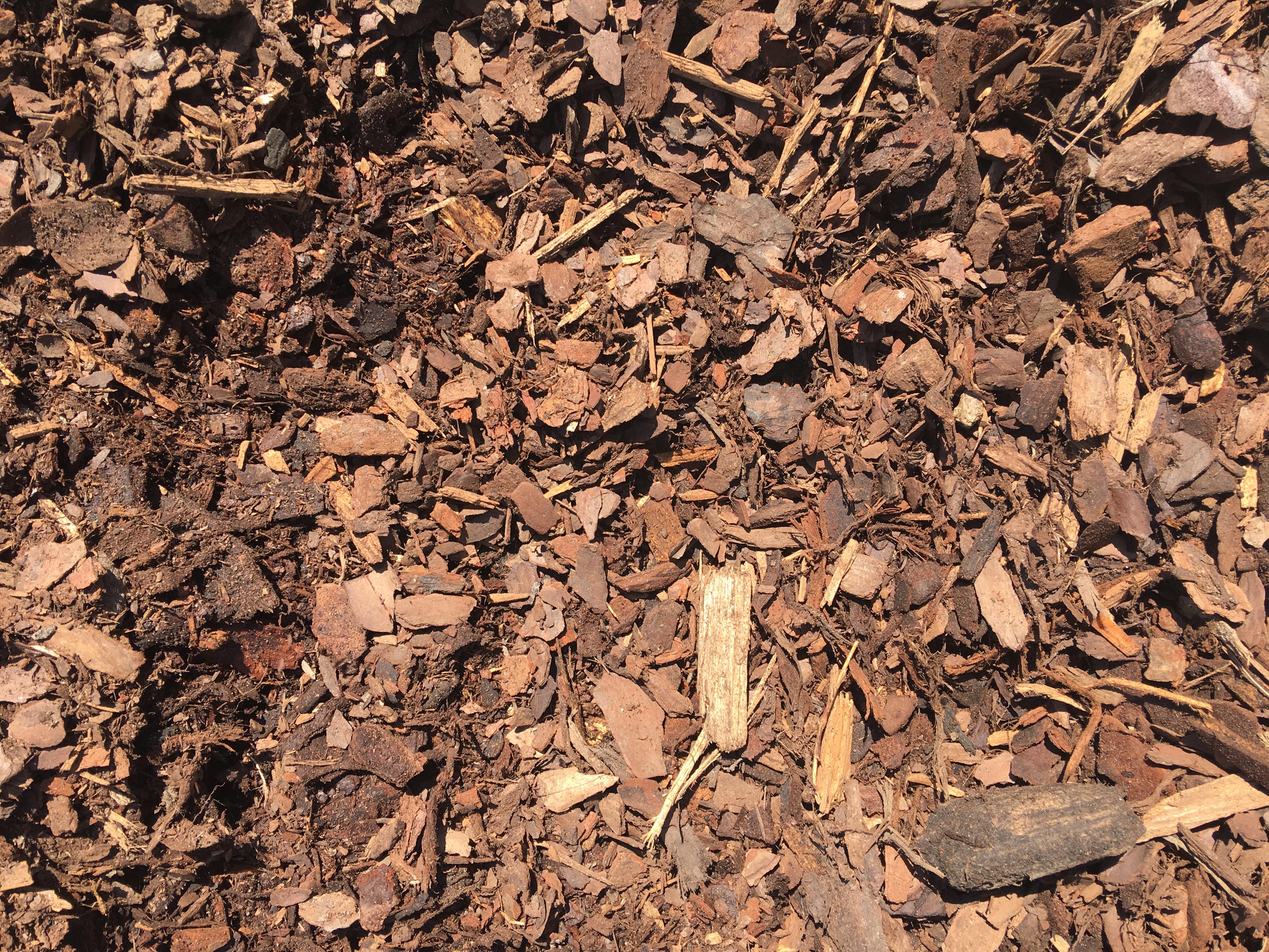Pine Bark Mulch Yard Works